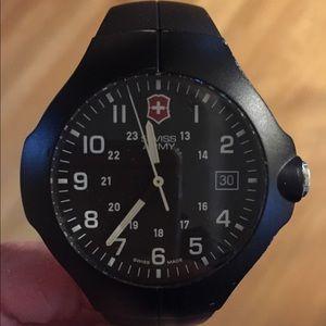 Other - Black Swiss Army Watch